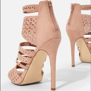 JustFab Shoes - Boardwalk babe cut out heals from just fab